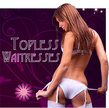 Topless Waitress